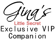 Visit Gina's Little Secret's Website at www.ginaslittlesecret.com